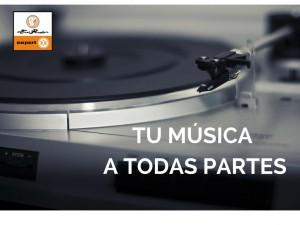 Tu música a todas partes