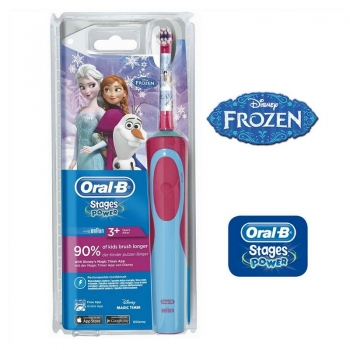 Braun Oral-B D12 Vitality Stages Frozen - Cepillo dental